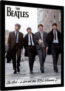 Kehystetty juliste The Beatles - On Air 2013