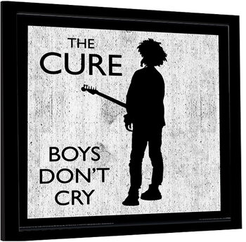 Kehystetty juliste The Cure - Boys Don't Cry