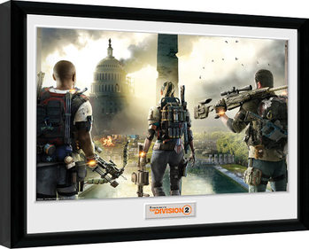 The Division 2 - Landscape Kehystetty juliste