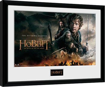 The Hobbit - Battle of Five Armies Defining Kehystetty juliste
