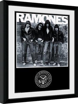 The Ramones - Album kehystetty lasitettu juliste