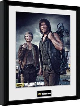 The Walking Dead - Carol and Daryl Kehystetty juliste