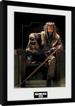 The Walking Dead - Ezekial Kehystetty juliste