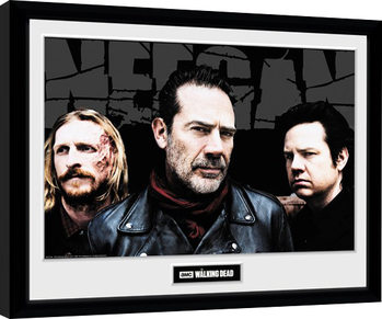 The Walking Dead - Negan Crew Kehystetty juliste