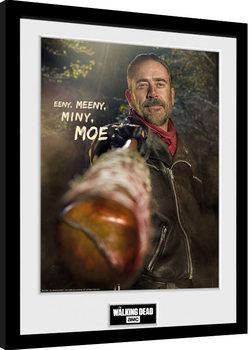 The Walking Dead - Negan Kehystetty juliste