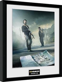 The Walking Dead - Season 5 Kehystetty juliste
