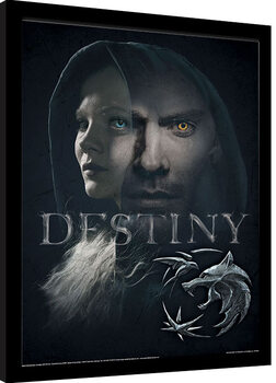 Kehystetty juliste The Witcher - Destiny