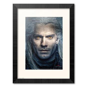 Kehystetty juliste The Witcher - Geralt