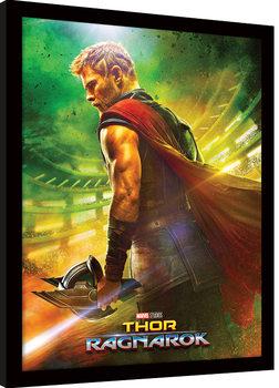 Thor Ragnarok - Teaser Kehystetty juliste