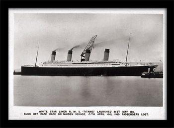 Titanic (1) Kehystetty juliste