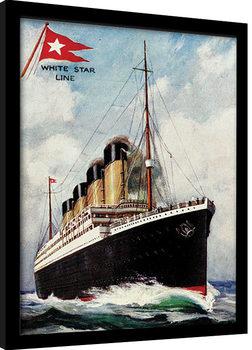 Kehystetty juliste Titanic