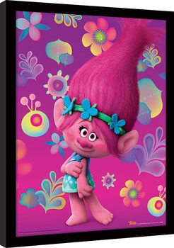 Trolls - Poppy Kehystetty juliste