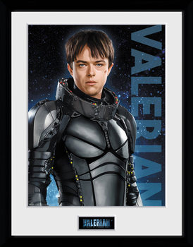 Valerian and the City of a Thousand Planets - Valerian Kehystetty juliste