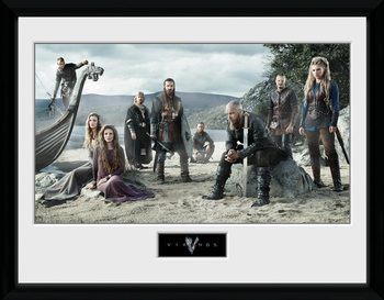 Vikingos - Beach Kehystetty juliste