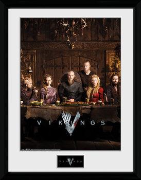 Vikingos - Table Kehystetty juliste