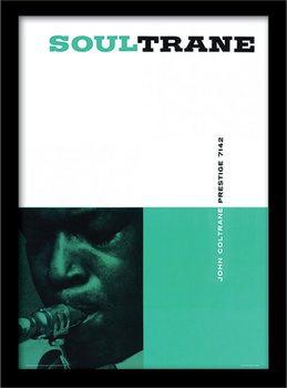 John Coltrane - Soultrane Kehystetty lasitettu juliste