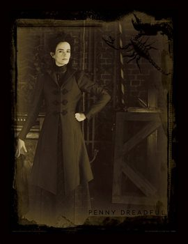 Penny Dreadful - Sepia Kehystetty lasitettu juliste