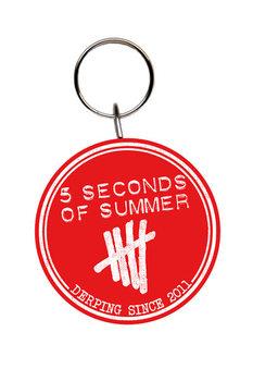 5 Seconds of Summer - Derping Keyring