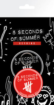 5 Seconds of Summer - Derping Keyring