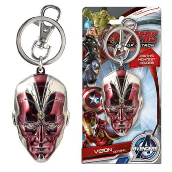 Avengers - Vision Head Keyring