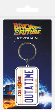 Keychain Back To The Future - License Plate