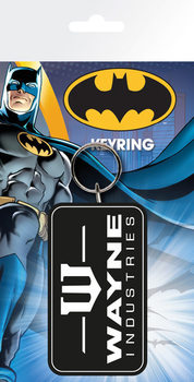 Batman Comic - Wayne Industries Keyring