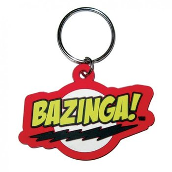BIG BANG THEORY - bazinga Keyring