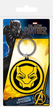 Black Panther - Logo Keyring