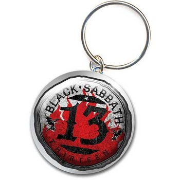 Keyring Black Sabbath – 13 Flame