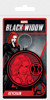 Keychain Black Widow - Mark of the Widow