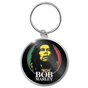 Bob Marley – Logo Face Keyring