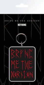 Bring me the horizon - Logo red Keyring