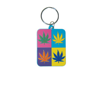 CANNABIS - Pop Art Keyring