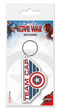 Captain America Civil War - Team Cap Keyring