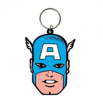 Captain America - Face Keyring