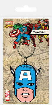 Captain America - Face Keyring