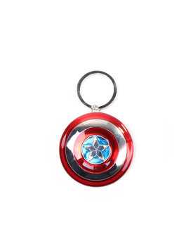 Captain America Shield Keyring