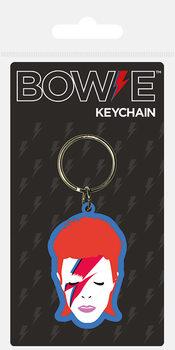 David Bowie - Aladdin Sane Keyring