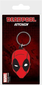 Deadpool - Face Keyring