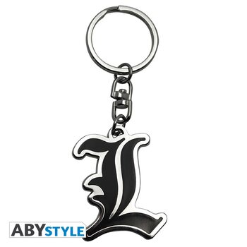 Keychain Death Note - L