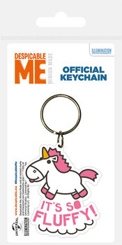 Despicable Me - It's So Fluffy Keyring