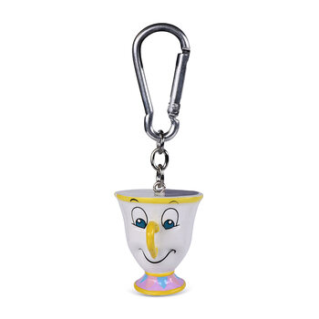 Keyring Disney - Beauty and the Beast Chip