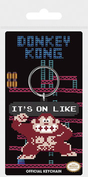 Donkey Kong - It's On Like Keyring