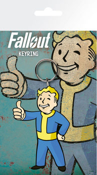 Fallout 4 - Vault Boy Thumbs Up Keyring