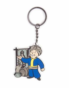 Fallout - Vault Boy Keyring