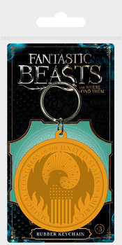Fantastic Beasts And Where To Find Them - MACUSA Logo Keyring