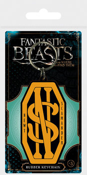 Fantastic Beasts And Where To Find Them - Newt Scamander Logo Keyring