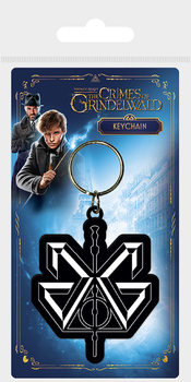 Fantastic Beasts The Crimes Of Grindelwald - Grindelwald Logo Keyring
