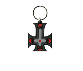 GOTHIC CROSS - Inverted Keyring