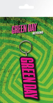 Green Day - Logo Keyring